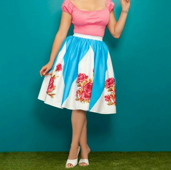 Pinup Couture Dresses & Skirts - NWT Pin up Girl Clothing petite Jenny skirt L